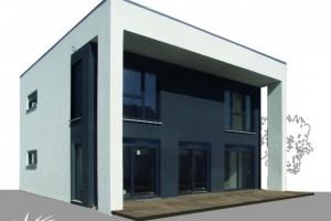 Einfamilienhaus Pultdach 142 exklusiv